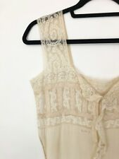New listing Vintage 1910s Edwardian Lingerie Step In Sheer Lace Silk Underwear Teddy Nancy