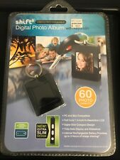 SHIFT3 Digital Photo Album w/ Keychain USB 2.0 Rechargable 8MB 60 Images