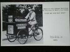 POSTCARD RP  WALL'S ICE CREAM TRICYCLE  STOP ME & BUY ONE
