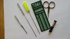 6 Piece Carp Coarse baiting tool kit Hook needle Bait punch Scisssors Hair stops