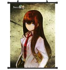 3698 Anime Steins;Gate Makise Kurisu wall Poster Scroll A