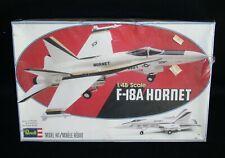 F-18A Hornet 1/48 Scale Plastic Model Kit~Revell 4500 Sealed~1979