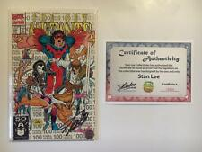 NEW MUTANTS #100 SIGNED STAN LEE 3rd PRINTING ROB LIEFELD X-FORCE