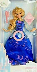 2020 Disney Store Princess Aurora Doll Seeping Beauty - Light-Up with Sounds NEW