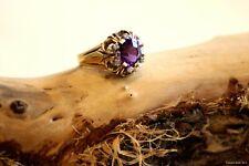 Ring mit Amethyst und Diamanten vom Juwelier Nowak