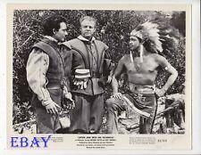 Barechested man Anthony Dexter VINTAGE Photo Captain John Smith And Pocahontas