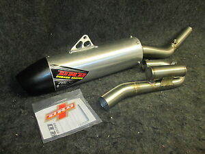 Kawasaki KXF250 2009-2016 New DRD stainless/alloy complete exhaust system KX1961