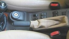 SAAB 9.3 - 900 S/SE- hand brake boot in BEIGE ITALIAN REAl LEATHER-made in Italy