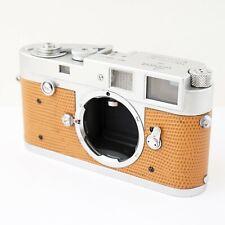 LEICA M2 chrome rangefinder RF Camera Body 1959 preview lever, button rewind
