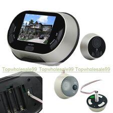 """3.5""""LCD Screen Digital Door Bell Doorbell Peephole Viewer Security Camera*BEST*"""