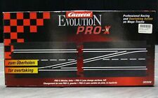 SLOT CAR Carrera EVOLUTION Pro-X Right Lane Change Sections NEW 1/24 SCALE