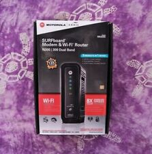 ARRIS Motorolla SURFboard 3.0 Cable Modem/ Wi-Fi N300/N300 Dual Band Router