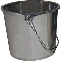 Grip On Stainless Steel Bucket — 1-Gallon, Model# 78174