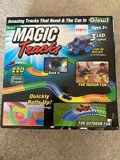 Magic Tracks Set 220 Pcs 11ft Glow Track