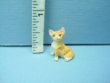 FROG SET #724 1:12 Scale Dollhouse Miniature Garden Pet Adult Collectable FALCON