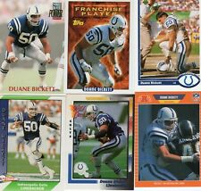Kenner Starting Lineup Card 1989   DUANE BICKETT INDIANAPOLIS COLTS