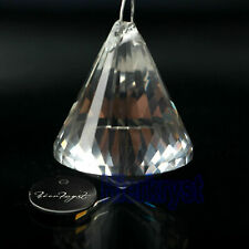 5 Hanging Clear Chandelier Glass Crystals Lamp Prisms Parts Drops Pendants 38MM