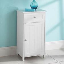 0068 - Bathroom 1 Door 1 drawer Floor Free Standing Storage Cabinet