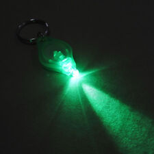 Green Ray LED Keychain Light Night Fishing Dual Switch Green Beam Keyring Lamp