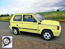 Gomma paraurti protezione porta sportello Fiat Panda Young strisce adesivi per 1