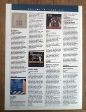 HAWKWIND TRAFFIC UFO album reviews  UK ARTICLE / clipping