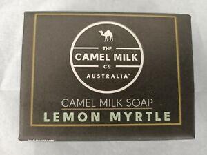 Camel Milk Triple Milled Natural Soap Lemon Myrtle Paraben Preservatives Free