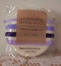 Bath and Body Works Lavender & Sandalwood with Natural Lavender Oil Bath Fizzy