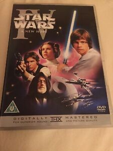 Star Wars IV(A New Hope) DVD