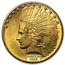 $10 Indian Gold Eagle BU (Random Year)