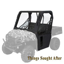 BLACK CAB ENCLOSURE for 2013 POLARIS RANGER MIDSIZE 800 500 400 EV EFI LE Cabin