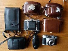 7 cámaras ALT Antik rareza foto kodak retina reflex Zeiss Ikon Polaroid Agfa