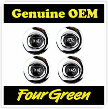 Wheel Hub Center Cap Cover Chrome 4Pcs for Kia 01-02 Optima OEM [529603C100]