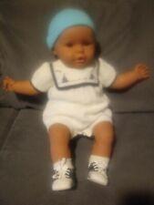 Rare African American Berjusa Minene Baby Doll. Head Moves Around.