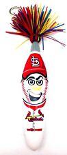 St. Louis Cardinals Pen Kooky Klicker Clip MLB Baseball Head Ball Point Chain