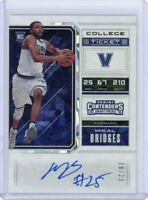 Mikal Bridges 2018-19 Panini Contenders Draft *RC Cracked Ice #/23 Variation B*
