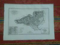 1844 Zuccagni-Orlandini Divisione Militare di Torino Provincie di Biella e Ivrea