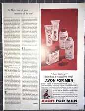 Life Magazine Ad AVON for Men