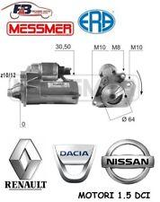 MOTORINO AVVIAMENTO RENAULT CLIO KANGOO MEGANE / NISSAN QASHQAI / DACIA 1.5 DCI