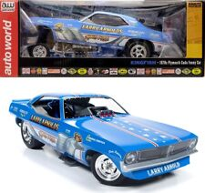 1970 plymouth cuda Kingfish FUNNY CAR (Larry Arnold) 1:18 auto world aw1173