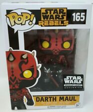 Funko Pop! Smuggler's Bounty Exclusive Star Wars Rebels Darth Maul #165
