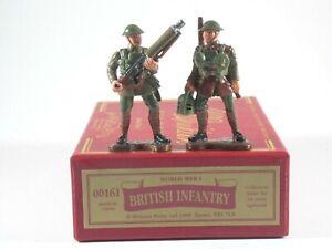 Britains Soldiers. World War 1 British Infantry. 2 Figure Set #00161. MIB