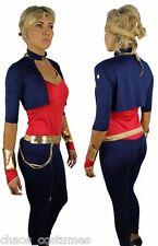 Sexy Super Wonder Woman Hero DC Justice League Avenger Halloween Costume 6 8 10