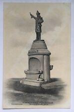 NY Postcard Walden New York Fireman's Fountain (Albertype Co./R.D Whitmore)