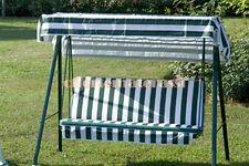 Cuscino da esterno per DONDOLO modello Base Small 135 cm 3 posti per giardino