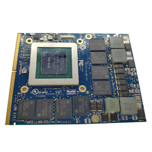 NVIDIA GTX980M 8GB MXM SLI N16E-GX-A1 Grafikkarte für Notebook-Laptop-GPU