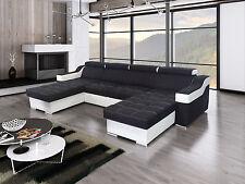 Ecksofa Esperanza  U mit Schlaffunktion Wohnlandschaft Eckcouch Couch Groß 01