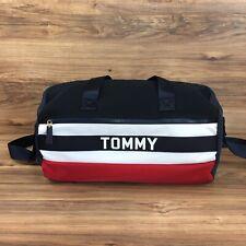 Tommy Hilfiger Duffle Bag Tommy Logo Print Travel Bag Navy Blue New