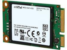 Crucial M500 240GB Mini-SATA (mSATA) MLC Internal Solid State Drive (SSD)
