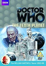 Doctor Who: The Tenth Planet The 10th Planet [DVD] William Hartnell Dr Who Nuevo