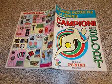 ALBUM CAMPIONI DELLO SPORT 1969 1970 PANINI ORIGINALE EDICOLA VUOTO CON CEDOLA